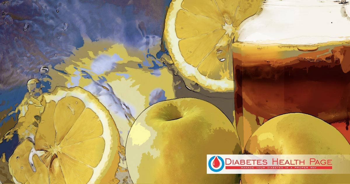 Two-Ingredient Diabetic Drink for Weight Loss and General Wellbeing