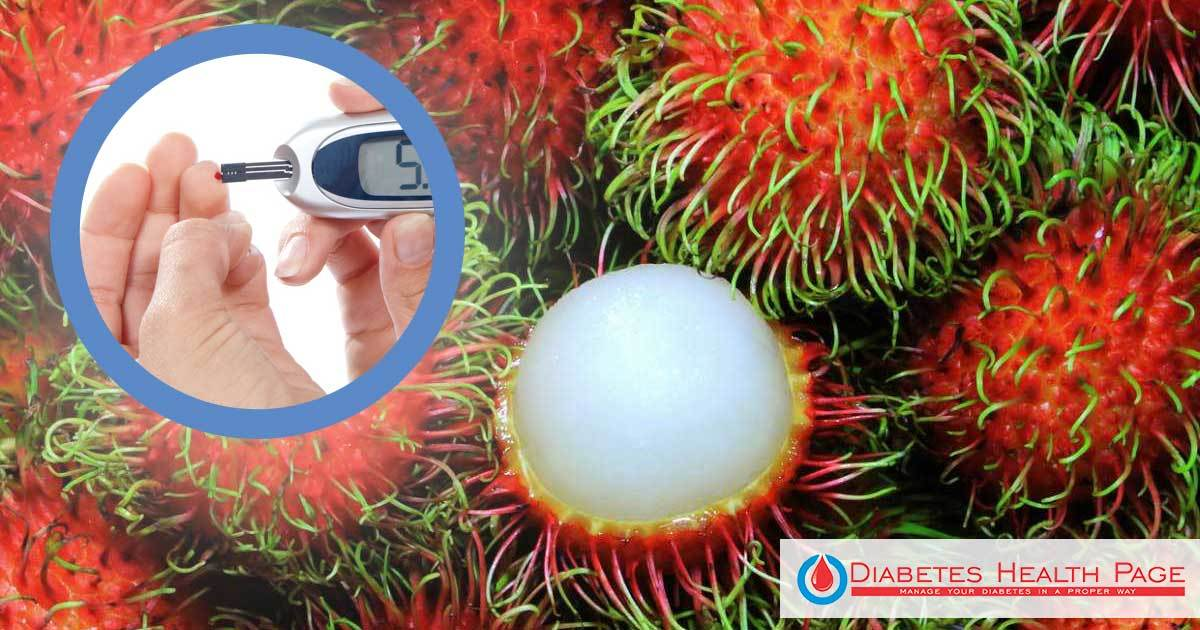Rambutan Seeds Are Good for Diabetes - Recipe Included