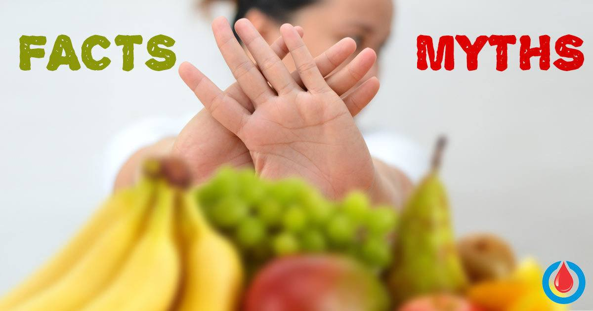 6 Myths about Food and Diabetes You Must Know