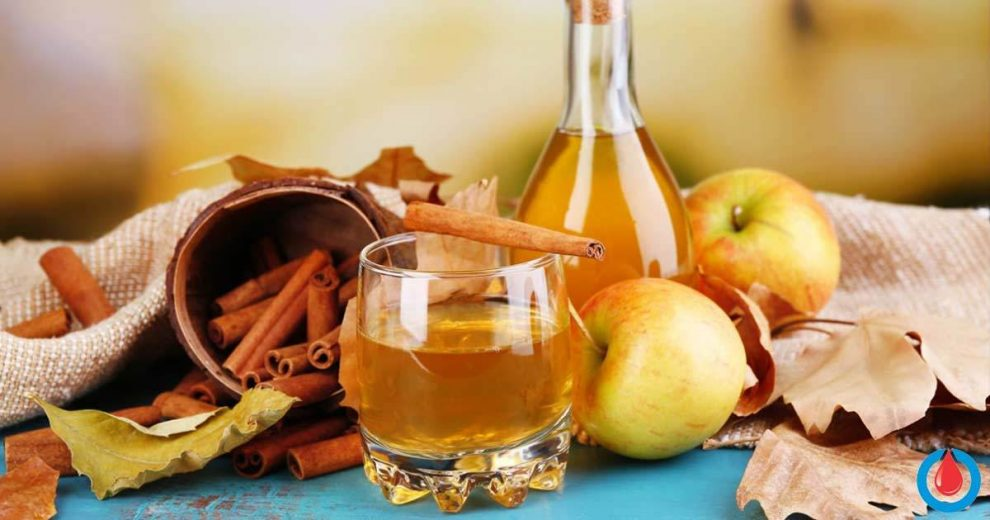 Cinnamon & Apple Cider Vinegar Recipe for Reducing Blood Sugar and Blood Pressure Levels