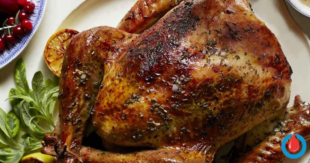 How to Prepare Healthy and Delicious Thanksgiving Turkey with Garlic, Lemon and Herb