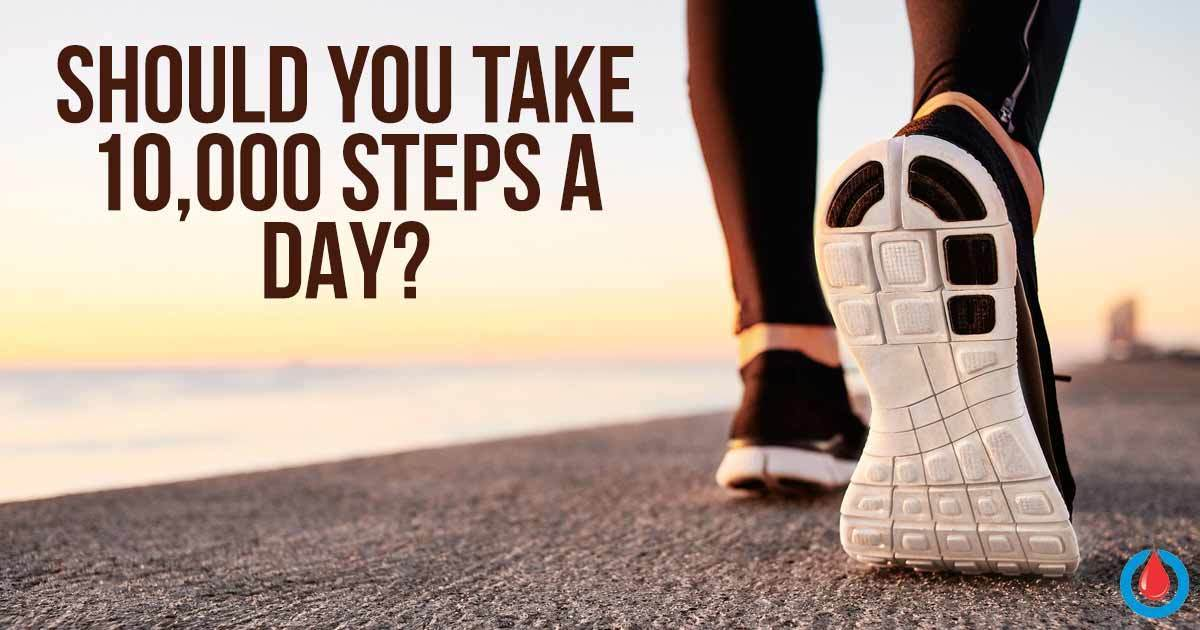 What Would Happen to Your Body If You Take 10,000 Steps a Day