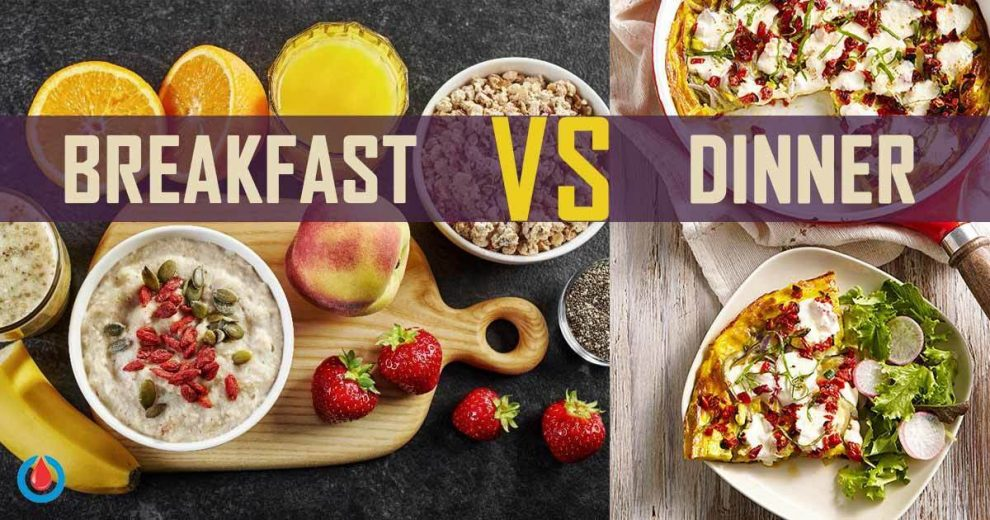 Big Breakfast, Small Dinner Might Be the Key to Blood Sugar Control