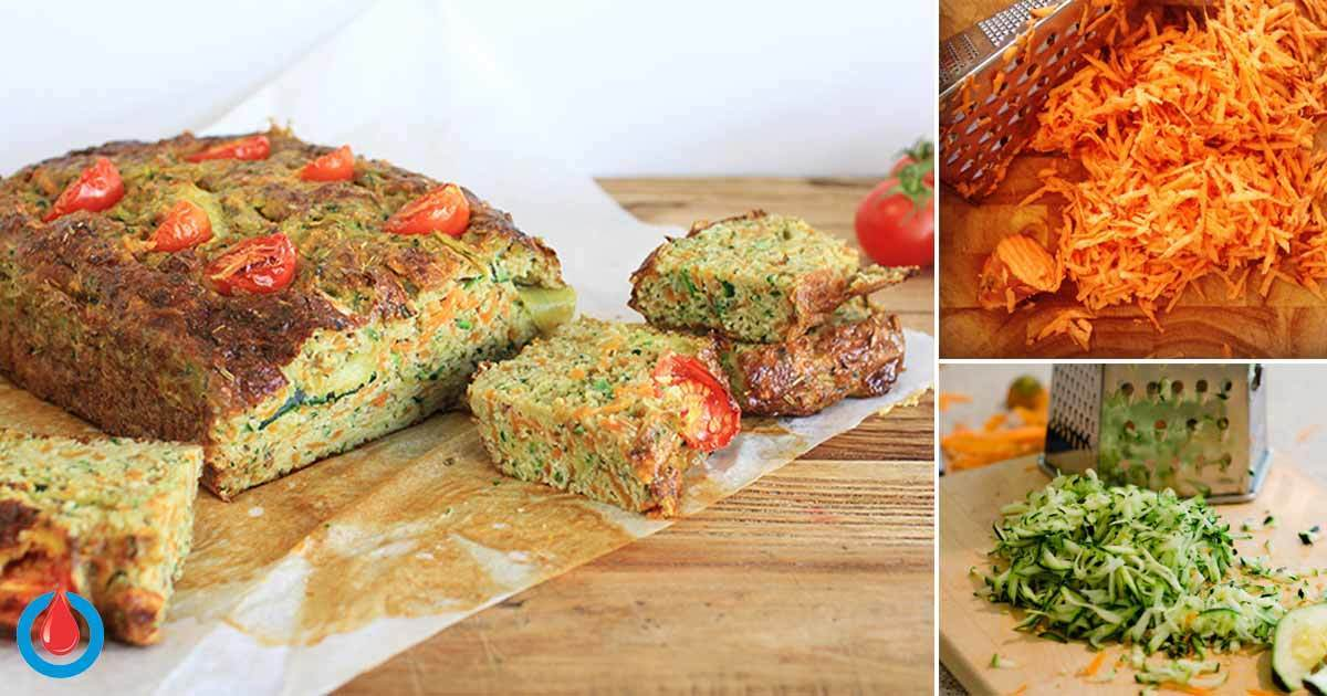 Zucchini and Sweet Potato Bread That Wont's Spike Your Blood Glucose