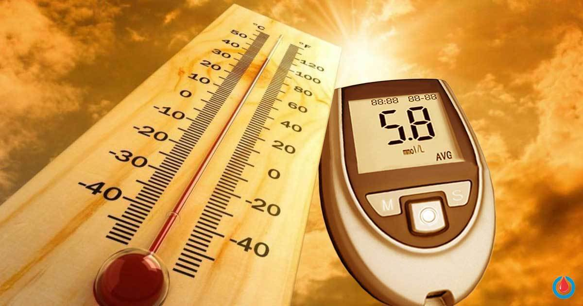 6 Tips to Control Blood Glucose Levels in Hot Weather