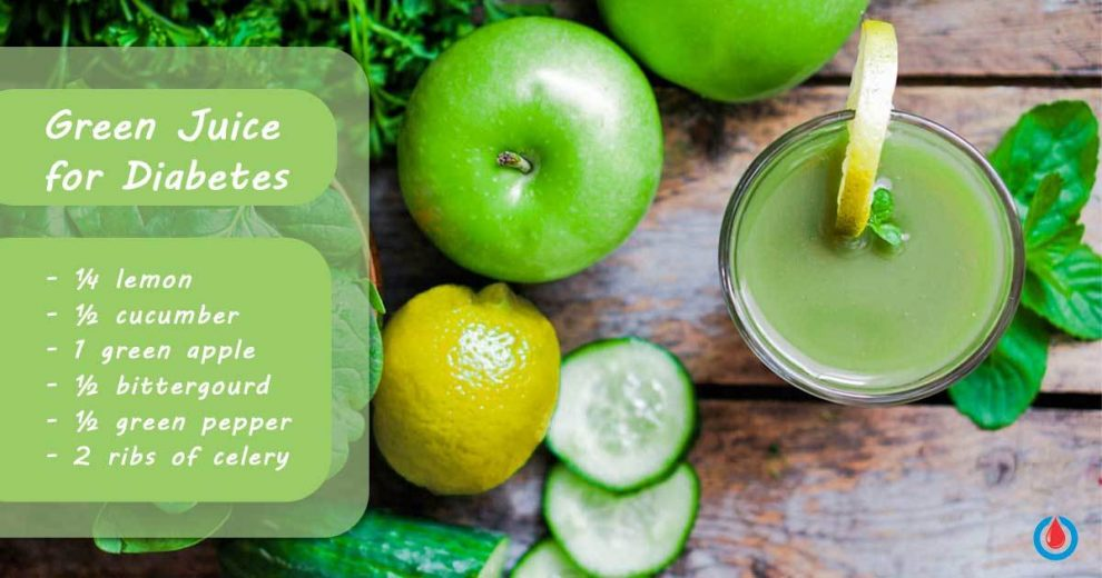 This Fantastic Green Juice Will Lower Your Blood Glucose Levels