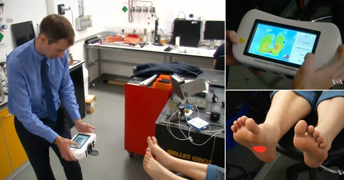 A Machine That Identifies Diabetic Ulcers Is In the Process of Developing