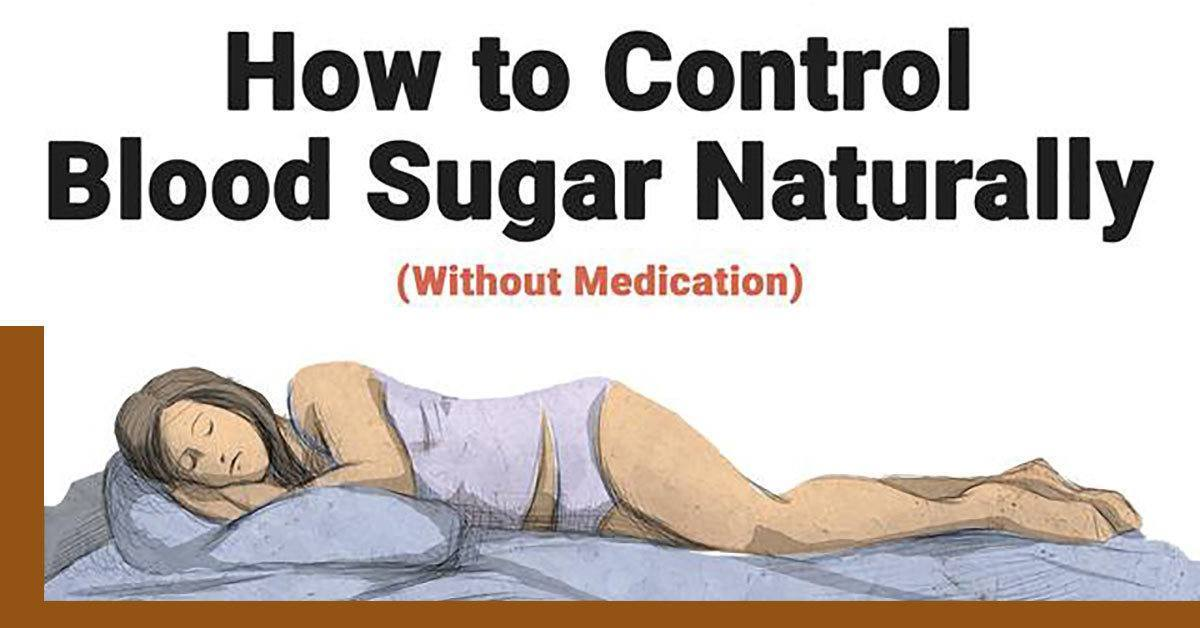 How To Control Blood Sugar Naturally (Without Medicine)