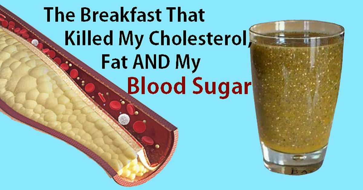 The Breakfast That Helped Me Control My Cholesterol, Fat and Blood Sugar